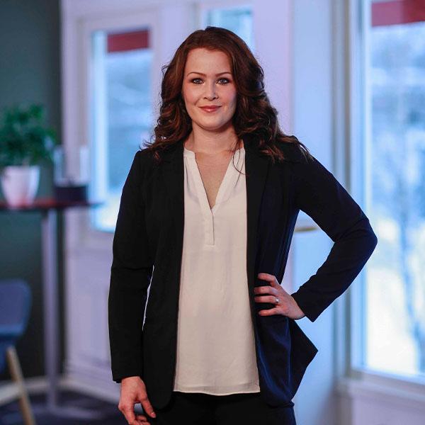 Medierådgivare Sofia Forsberg